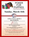 Poker For Puppies @ Loew's Santa Monica Beach Hotel | Santa Monica | California | United States