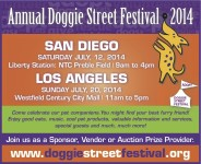 Doggie Street Festival 2014 @ Westfield Century City Mall | Los Angeles | California | United States