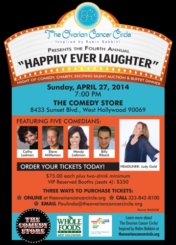 """Happily Ever Laughter"" Benefit @ The Comedy Store 