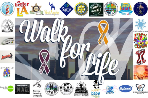 5th Annual Walk for Life  @ Youth Activity League Irmas Youth Center | Los Angeles | California | United States