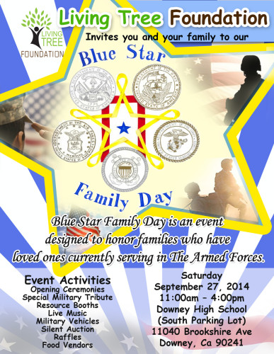 LTF Blue Star Family Day @ Downey High School (South Parking Lot) | Downey | California | United States