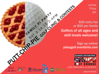 Family Pi Party: Putt-Chip-Pie Golf Clinic  @ Heroes Golf Course | Los Angeles | California | United States