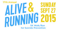 Alive & Running 5K Walk/Run for Suicide Prevention @ North of LAX/Sepulveda Blvd and Manchester Ave Area | Los Angeles | California | United States