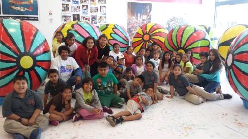 Art Project: Portraits of Hope @ Plaza El Segundo Center | El Segundo | California | United States