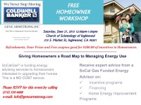 Giving Homeowners a Road Map to Energy Use @ Church of Scientology of Inglewood | Inglewood | California | United States