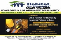 CTJ Hosts Habitat for Humanity Build @ Inglewood build site - new home construction/CTJ parking lot for under 16 | Manhattan Beach | California | United States