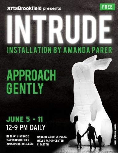 """Intrude"" Installation @ FIGat7th | Los Angeles | California | United States"