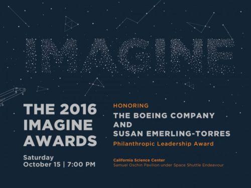 2016 Imagine Awards @ California Science Center (Samuel Oschin Pavilion under Space Shuttle Endeavor) | Los Angeles | California | United States