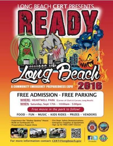 READY Long Beach 2016: A Community Emergency Preparedness Expo @ Heartwell Park | Long Beach | California | United States