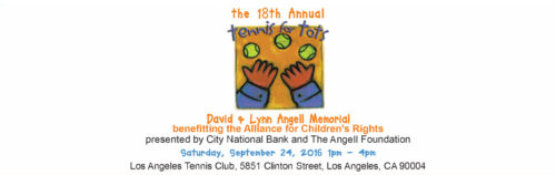 18th Annual Tennis for Tots @ Los Angeles Tennis Club | Los Angeles | California | United States