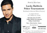 Lucky Baldwin Poker Tournament @ Los Angeles Arboretum | Arcadia | California | United States