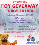 CCHC's 2nd Annual Toy Giveaway @ CCHC Sunland Clinic | Los Angeles | California | United States