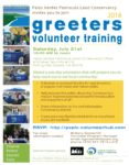 Outreach: Greeters Training @ PVPLC Office 916 Silver Spur, #104 Rolling Hills Estates, CA 90274 | Rolling Hills Estates | California | United States